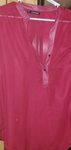 Maurices sheer 2x top